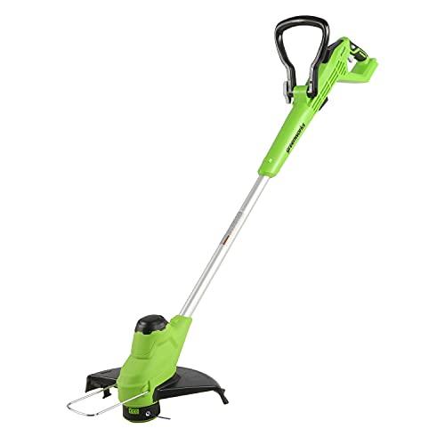 Greenworks Tools Desbrozadora 2 en 1 con batería de 24 V, 28 cm, sin batería ni cargador