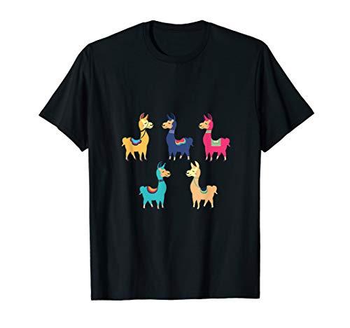 Peru Berg Lama Alpaka Shirt Machu Picchu T-Shirt