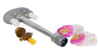 MHP Charmglow Gas Lamp Repair Kit Mantels, Burner, NG Valve DMI-N