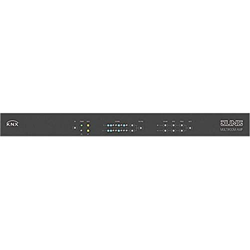 Jung KNX Multiroom-versterker MR-AMP 4.8 integr.Busankoppler KNX HiFi-versterker 4011377118966