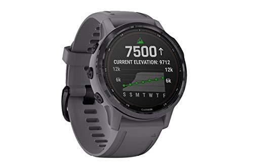 Garmin fēnix 6S Pro Solar, Reloj GPS Multideporte con energía Solar, características...
