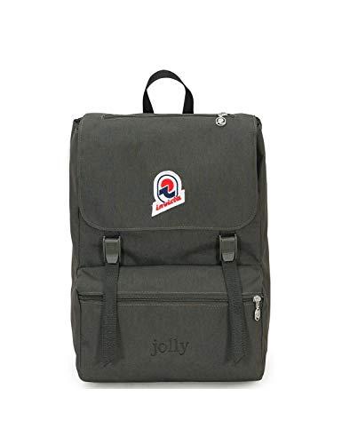 Invicta Zaino Jolly Solid Casual Daypack, 38 cm, 22 liters, Green (Verde)