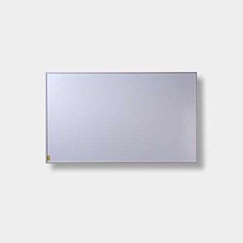 FERN INFRAROTHEIZUNG (neueste Technologie) PREMIUM-Edition 600W Heizpanele auf Carbon Crystal Basis mit höchsten Sicherheitsstandards (CE, ROHS), 50 Jahre/100.000Std Lebensdauer und 99{a6d36c1c1d9e7875f78c971540e2c4fb4f56e988e7fa81dbdd3d7348704b2c13} Heizübertragung inkl. Deckenbefestigungsmaterial (Weiß)