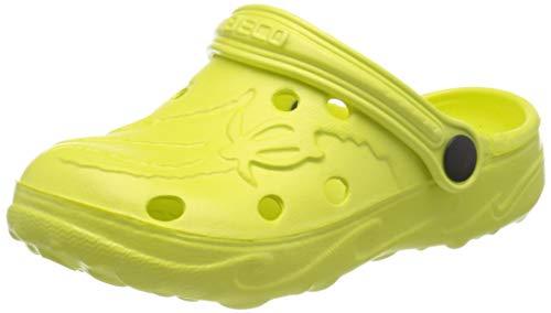 BECO Kinderclogs / Badeschuhe Schildi lemon 31