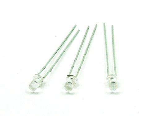 POPESQ® - 3 Stk./pcs x Fotodiode 3 mm / Photodiode Lichtsensor Light sensor Arduino #A192