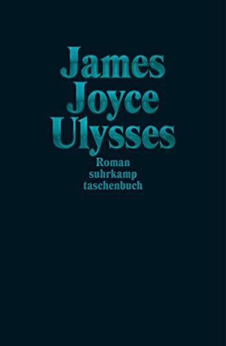 Ulysses Sonderausgabe Türkis (suhrkamp taschenbuch)