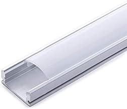 Ecolicht SU-A1707 - Perfil LED, aluminio/PC