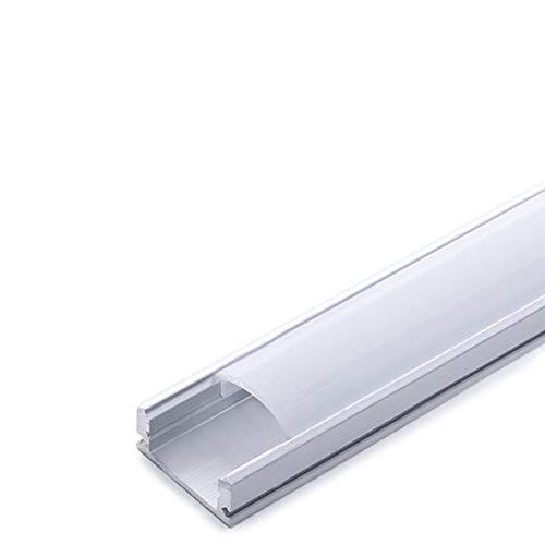 Ecolicht SU-A1707 - Perfil LED, aluminio/PC: Amazon.es ...