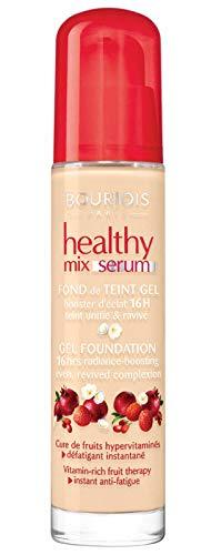 3x Bourjois Healthy Mix Serum Gel Foundation 51 Light Vanilla 30ml New & Sealed