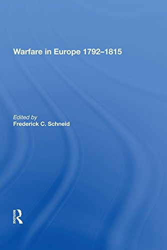 Warfare in Europe 1792�815 (English Edition)
