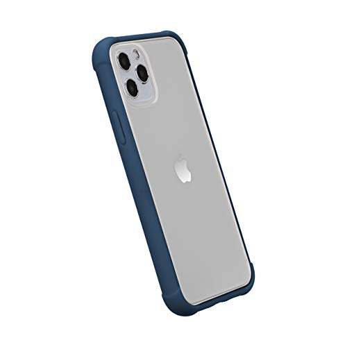 Amazon Basics iPhone 11 Pro Max Crystal Mobile Phone Case (Protective & Anti Scratch) - Blue