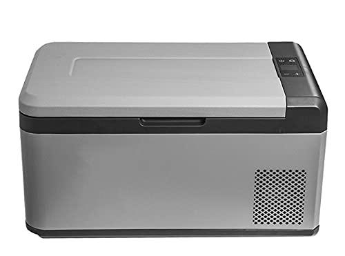 Refrigerador De Coche Portátil 12 / 24V 21 litros Mini Nevera Congelador Refrigerador De Coche, Caja De Refrigeración Eléctrica para Camping, Vehículo, Camión, Barco, Viaje