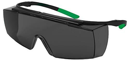 Uvex 9169545Sicherheit Gläser, Super Otg SS5, schwarz/grün