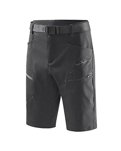 Black Crevice Short de Trekking pour Homme, Noir, XL