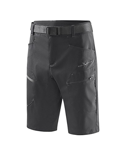 Black Crevice Short de randonnée pour Homme, Noir, XL