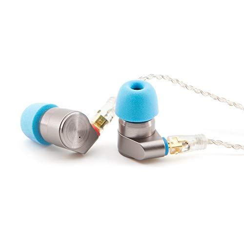 TINHiFi   T2 Pro   Premium-In-Ear-Kopfhörer mit Dual Dynamic Driver   Hochwertiges Metallgehäuse   Abnehmbares MMCX-Kabel