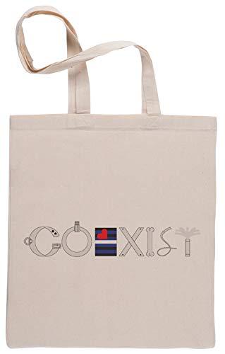 Capzy Kinky Coexist Einkaufstasche Beige Shopping Bag Beige