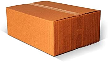 """Shri Ram Packaging® Corrugated Packing Box, Brown, 11""""L X 6"""" W X 5""""H - Pack of 25"""