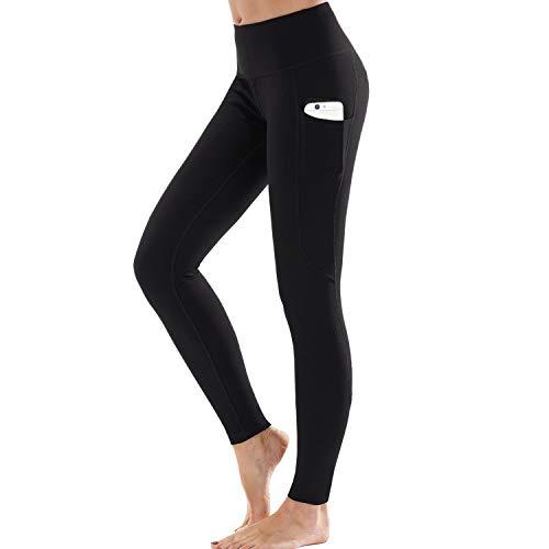 Ogeenier Sporthose Damen Sport Leggings mit Tasche, Hohe Taille Yogahose Sporthose Laufhose Fitnesshose Jogginghose Training Sport Tights