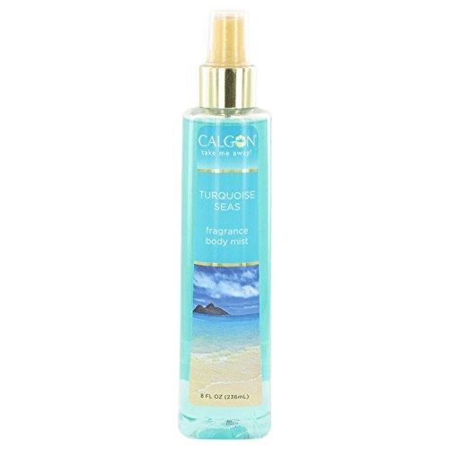 Calgon Take Me Away Turquoise Seas by Calgon Body Mist 8 oz for Women