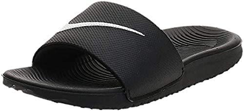 Nike Kawa Slide (GS/PS), Chanclas Hombre, Black/White, 36 EU