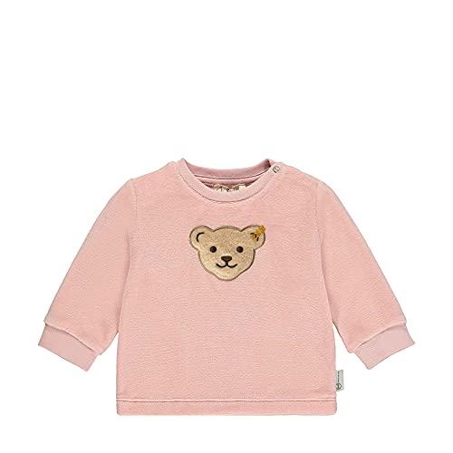 Steiff Sweatshirt Sudadera, Color Rosa Plateado, 1 Mes Unisex bebé