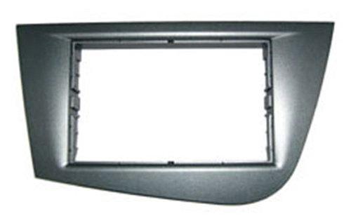 Autoleads DFP-18-02L Radioblende 2 DIN für Seat Leon 2005, Schwarz