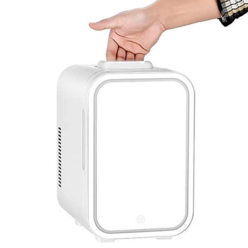 AIISHY Mini Nevera 8 litros AC/DC portátil Beauty Nevera termoeléctrica y Calentador para el Cuidado de la Piel, Dormitorio y Viaje,20x26x31cm