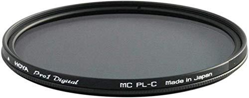 Hoya Pro 1 Digital - Filtro Polarizador para Objetivos de 62 Mm, Montura Negra