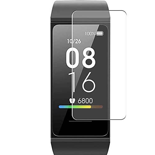 Vaxson 3 Stück Schutzfolie, kompatibel mit Xiaomi Mi Band 4C Fitness Tracker smartwatch, Bildschirmschutzfolie TPU Folie [ nicht Panzerglas ]