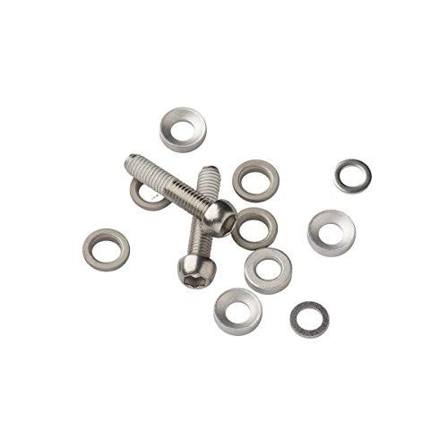 AVID Bremsen Schraube Set für Scheibenbremse, Schwarz, Standard
