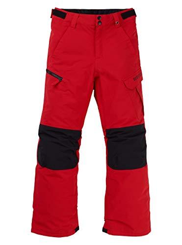 Burton Jungen Exile Cargo Snowboard Hose, Flame Scarlet, M