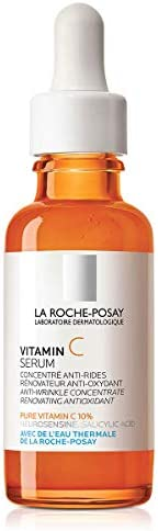 La Roche Posay Pure Vitamin C Face Serum with Hyaluronic Acid Salicylic Acid Anti Aging Face product image