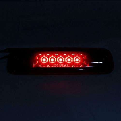 Wiivilik Rauch-LED 3. dritte Bremsleuchte hinten Bremsleuchte für 97-01 Cherokee XJ 2.5L / 4.0L Bremslicht