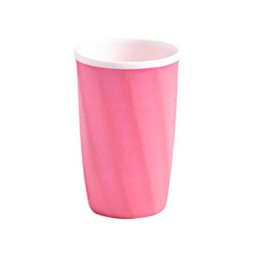 LLAAIT Badkamer Tumblers Tandenborstel Cup Tandpasta Houder Rietbeker Drinkbeker Tandbeker Servies Vaatwascontainer @C,C