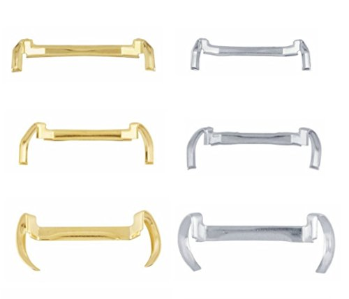 14k White/Yellow Gold Filled Metal Ring Guard - Small Medium Large (Pack of 3) (Yellow)