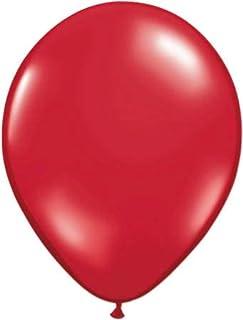 Folat - Globos De Rojo Rubí color - 12In/30cm - 100 piezas