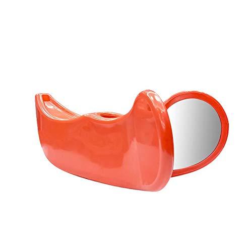 Limiss Hüfttrainer Beckenbodenmuskulatur Inneres Oberschenkelgesäß Enge Versorgung Schönheitstraining Beckenbodenmassage Weibliche Postpartale Reparatur,Orange