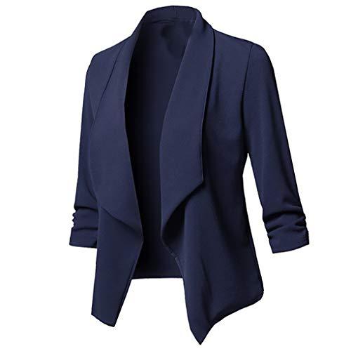 Chaqueta azul marino Blanco Pantalones Mujer Trajes de
