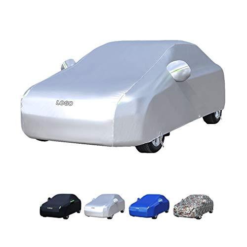 Guoguocy Fundas para Coche Cubierta del Coche, Compatible con la Cubierta del Coche de Mercedes-Benz Clase S, Modelo Aumentado 100% a Prueba de Agua, Mantener Caliente, a Prueba de congelación