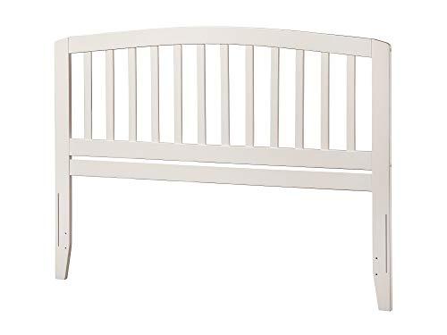 Atlantic Furniture Richmond Headboard, Queen, White,AR288842