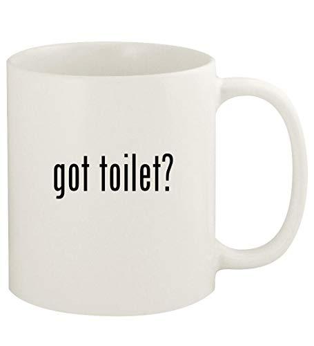 got toilet? - 11oz Ceramic White Coffee Mug Cup, White