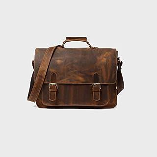 حقيبة ظهر Chliuchihjklstb ، حقائب للرجال من جلد البقر رسول حقيبة حقيبة حقيبة حقيبة الكتف