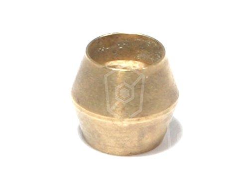 EGA Schneidring für Gasherd Alpeninox für Verschraubung, Zündbrenner Innen ø 4mm für Rohr 4mm Doppelkegelring