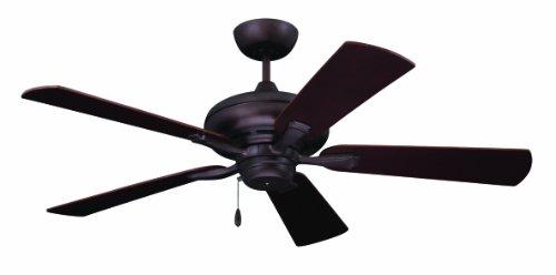 Emerson Ceiling Fans CF772ORB Monterey II 52-Inch Indoor Ceiling Fan, Light Kit Adaptable, Oil...