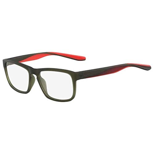NIKE 7104 311 54 Monturas de gafas, Matte Cargo Khaki, Hombre