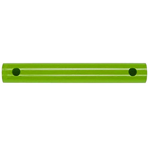 TikTakToo Moveandstic - Rohr 35 cm Move and stic Zubehör zu Mas zum Erweitern für Klettergerüste, Spielhauser, Bällebad (apfelgrün)