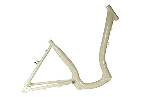 28 Zoll Alu Damen Fahrrad Rahmen City Tiefeinsteig Easy Boarding Bike Frame Beige