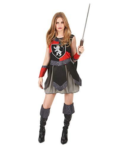 Costume cavaliere medievale donna M