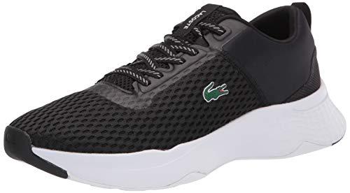 Lacoste mens Court-drive 0120 1 Sma Sneaker, Black/White, 11 US